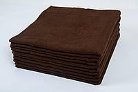 Полотенце отельное махровое Lotus 40*70 коричневое