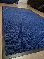 Ковер грязезащитный Стандарт 90х200см. васильковый