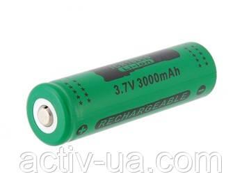 Защищенный аккумулятор  ICR18650  Li-Ion 3000мАч 3.7 V