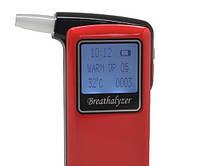 Персональный алкотестер AT-868 с полупроводниковым датчиком, термометром, LCD дисплей