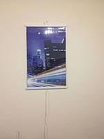 Настенный обогреватель картина Ночной город. Размер 750 х 460мм