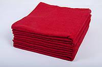 Полотенце махровое Lotus 70*140 красное