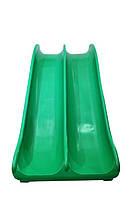 Горка детская пластиковая двускатная