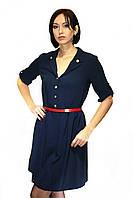 Платье Oscar Fur ПТ - 20 Темно-синий