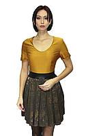 Женское платье со вшитым поясом