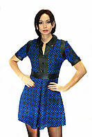 Платье Oscar Fur ПТ-18 Темно-синий