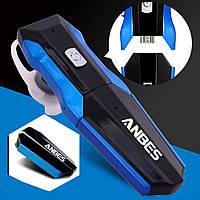 2 БАТАРЕИ, Bluetooth гарнитура МУЗЫКА на 2 уха/ на 2 телефона/ Беспроводные наушники
