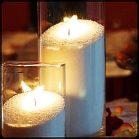 Воск для насыпной свечи + фитиль