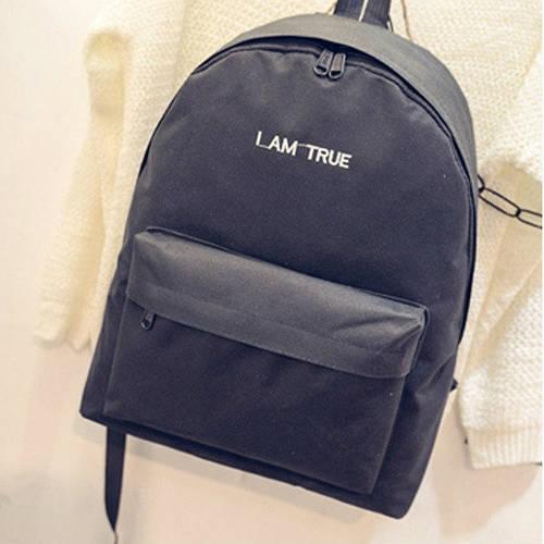 Стильный городской рюкзак с надписью