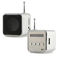 Мини портативная MP3 колонка от USB FM TD-V26 Grey