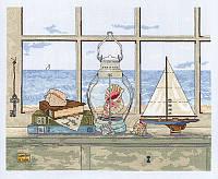 """Набор для вышивания крестом """"Sea Breeze Vista//Морской бриз"""" Janlynn"""