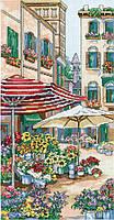 """Набор для вышивания крестом """"Flower Market//Цветочный рынок"""" Janlynn"""