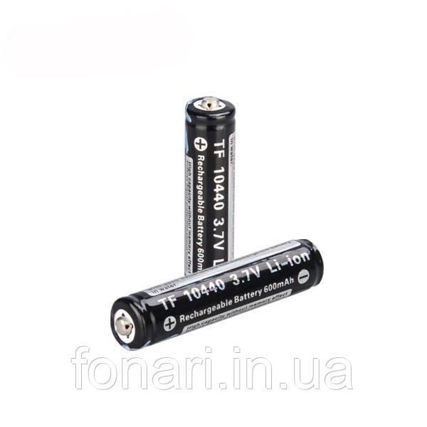 "Аккумулятор Trustfire 10440 Li-Ion ""600"" mAh 3,7V защищенный"