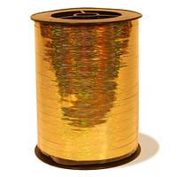 Лента золотая металлизированная