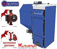 Твердотопливный котел с автоматической подачей топлива Корди