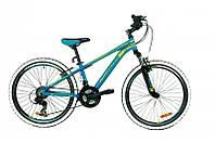 Велосипед Mascotte Phoenix  24 сине - желтый 2017