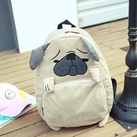 Молодежный рюкзак в виде собаки