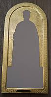Позолота сусальным золотом икон и гравировка фона икон на заказ.