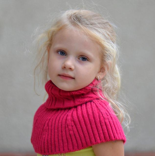 Манишка шарф