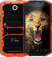 Vphone X3 (NO.1 X2i), IP-68, 13 Mpx, 16 GB, ОЗУ 2 GB, 4500 мАч, Android 5.1, GPS, 3G, дисплей 5.5""