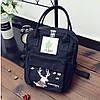 Сумка-рюкзак для города с модным принтом оленя, фото 10
