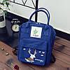 Сумка-рюкзак для города с модным принтом оленя, фото 2