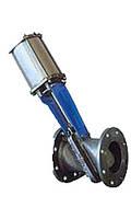 Шиберная ножевая задвижки с наклоном Ду 300 мм