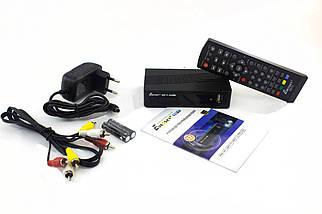 Цифровой эфирный приемник с пультом ДУ Eurosky ES-11 DVB-T2 приемник ТВ, фото 2
