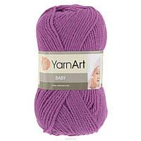 Акриловая детская пряжа для ручного вязания (100% Акрил) YarnArt Baby 560