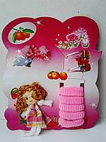 """Набор для девочки """"Куколка"""", 10 предметов."""
