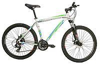 Велосипед Mascotte Status MD 26 сеhо-зелено-синий 2015