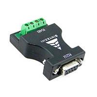 Преобразователь интерфейсов RS-232 в RS-485, конвертер сигнала 9 PIN, адаптер последовательного интерфейса., фото 1