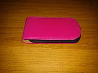 Чехол-флип для Samsung S5292 розовый, фото 1