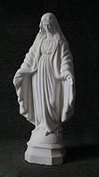 Статуя Богородицы №15 из белого бетона 56 см