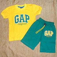Летний Костюм для Мальчика GAP Цвет Желтый  Рост 98-140 см