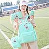 Модный рюкзак с принтом оленя 4 в 1, фото 5