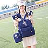Модный рюкзак с принтом оленя 4 в 1, фото 3