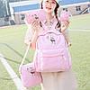 Модный рюкзак с принтом оленя 4 в 1, фото 2