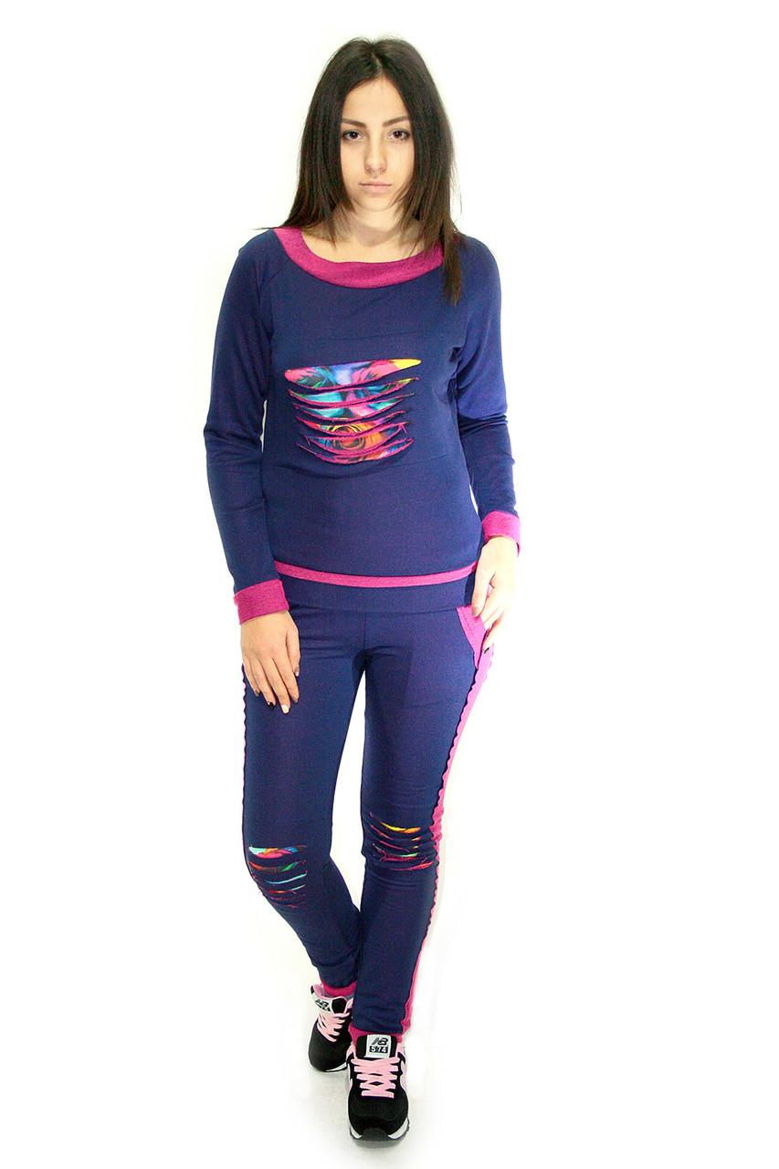 Спортивный костюм Oscar Fur СК-10-1 фиолетовый