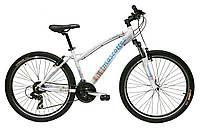 Велосипед Mascotte Camellia 26 белый птичка