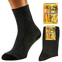 Носки мужские серые без рисунка Житомир