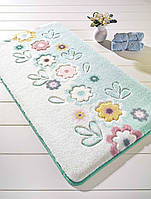 Коврик для ванной Confetti April Turquoise (Turkuaz) 80x140см