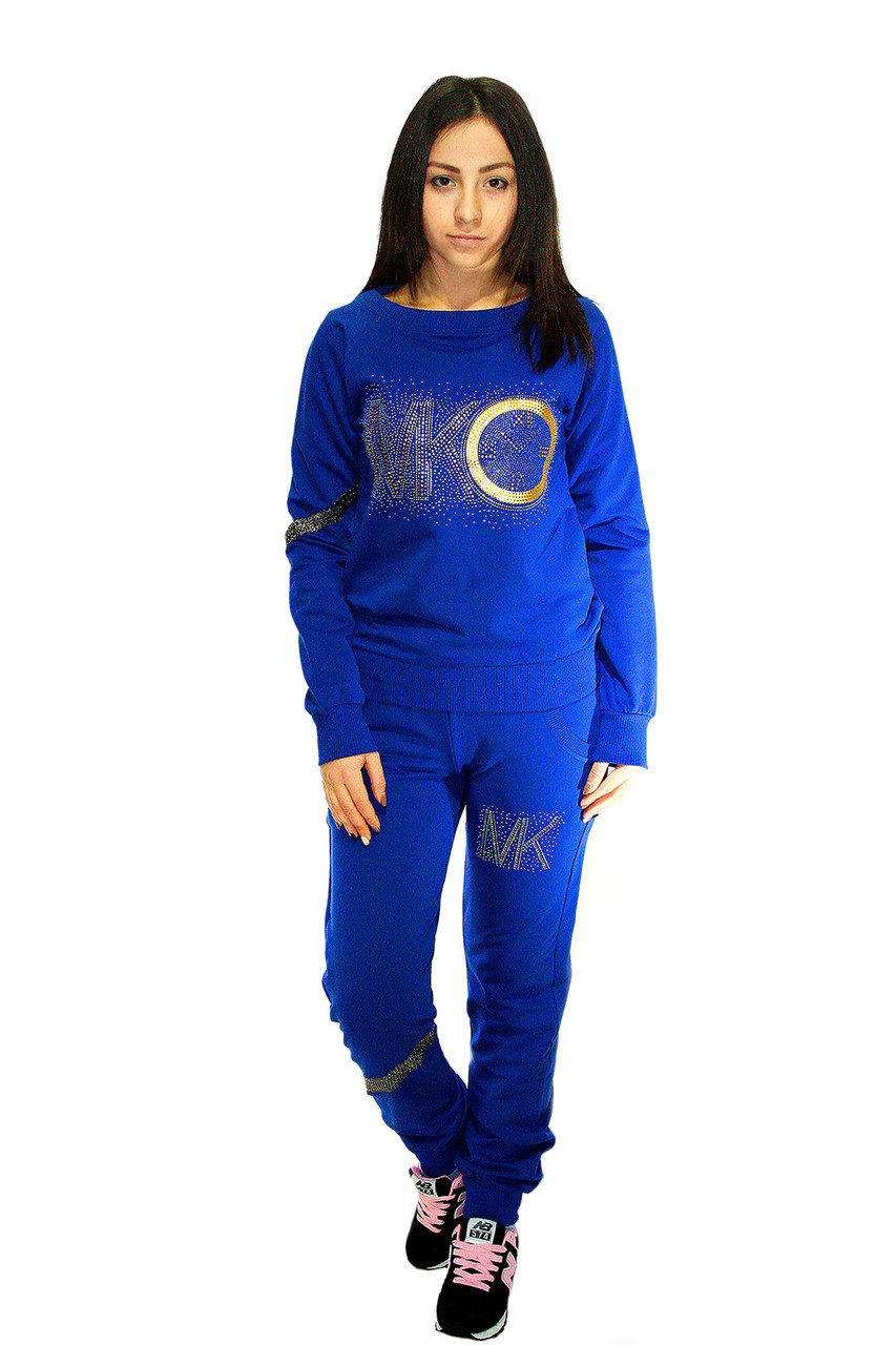 Спортивный костюм Oscar Fur СК-5-2  ярко-синий