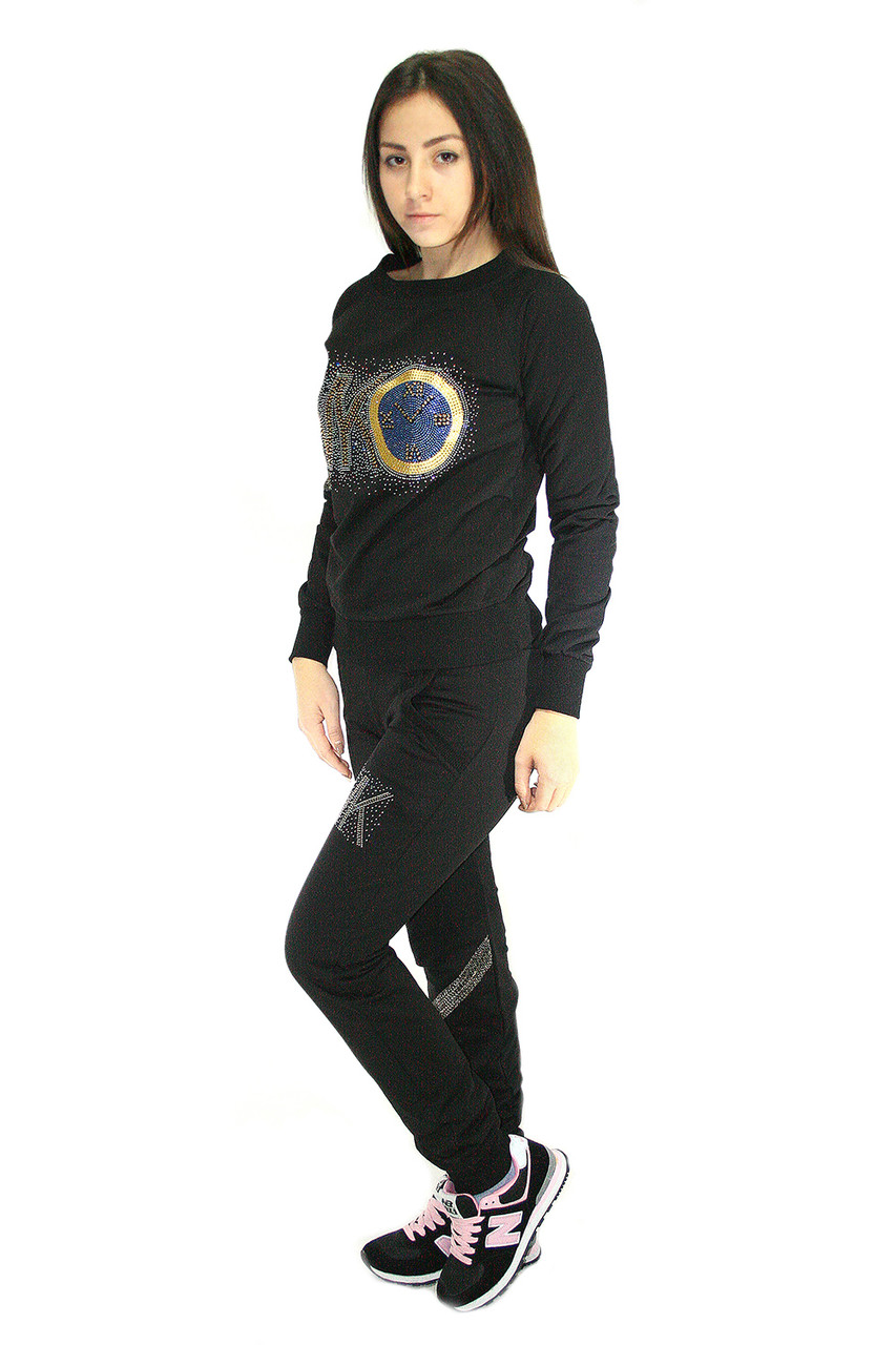 Спортивный костюм Oscar Fur СК-5-3  черный