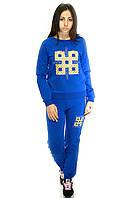 Женский спортивный костюм, ярко-синего цвета