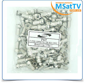 F6T (F-коннектор) TRILINK упаковка (100 шт)
