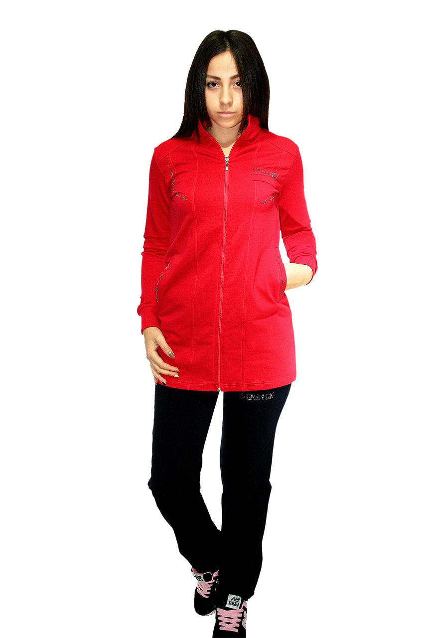 Спортивный костюм Oscar Fur СК-6-1 красный с черным