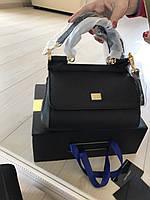 Мини-сумочка DOLCE&GABBANA натуральная кожа