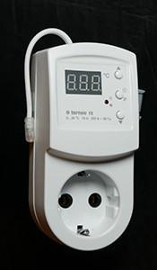 Terneo RZ — розетковий терморегулятор, фото2