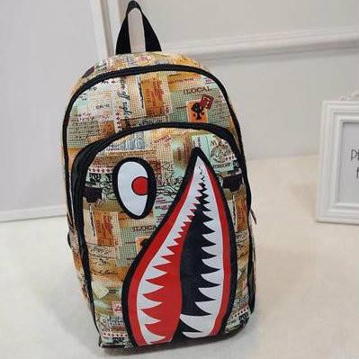 Школьный рюкзак Акула